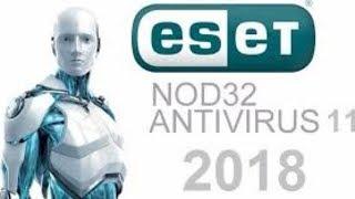 COMO BAIXAR NOVO Antivirus ESET NOD32  2018 + SERIAL ORIGINAL ATE 2027
