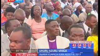 Rais Kenyatta azuru kaunti ya Vihiga