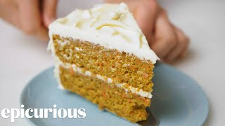 Carrot-Coconut Cake | Epi Classics | Epicurious