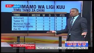 Zilizala Viwanjani: Matokeo na msimamo wa ligi kuu nchini