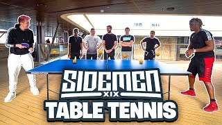 SIDEMEN TABLE TENNIS TOURNAMENT