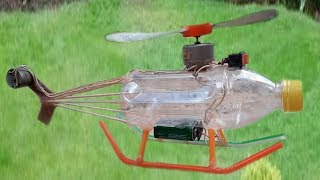 How to make an Electric helicopter motor-Very Simple hand made