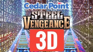 Cedar Point Roller Coaster Steel Vengeance Best VR Box video SBS 3D 4K not 360