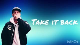 Logic   Take It Back (Lyric Video)
