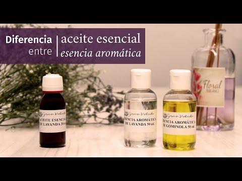 Cuáles son las diferencias entre los aceites esenciales y las esencias aromáticas