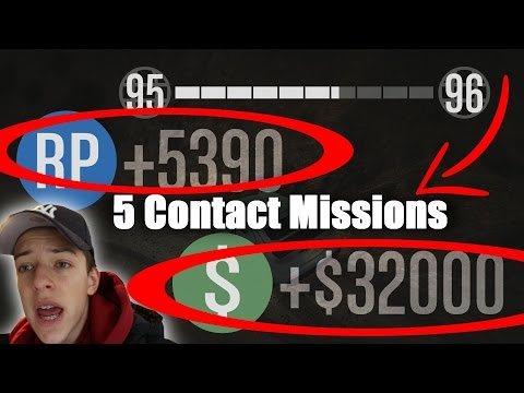 Top 5 Best Contact Missions +Playlist Download (330k+ Per Hour)