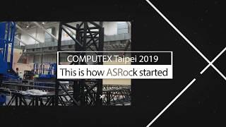 COMPUTEX Taipei 2019 ASRock Booth Design