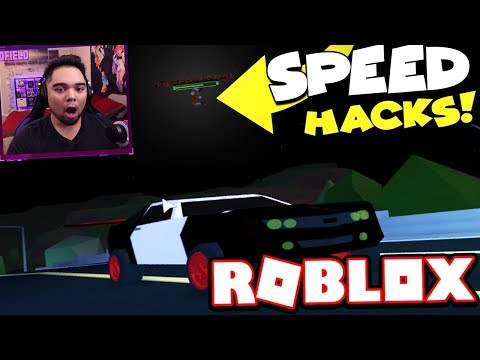 Playing With Speed 9999 Hackers Roblox Jailbreak