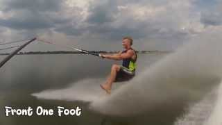 BAREFOOT WATERSKIING TIPS - ONE FOOTS