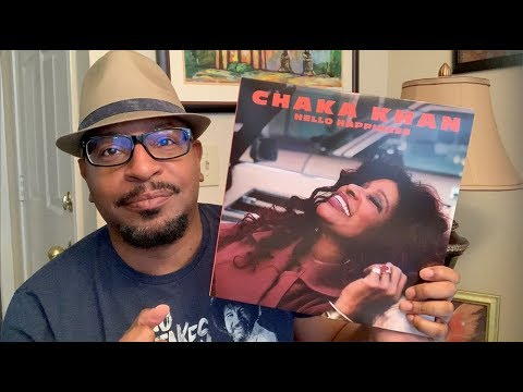 Unboxing Of Chaka Khan Vinyl Release HELLO HAPPINESS 2019 - Vinyl Talk With Tavis