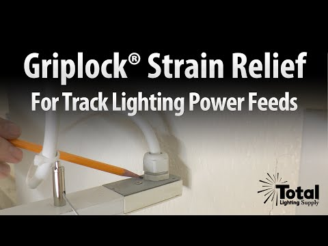 Track Suspension Strain Relief for Track Power Feeds Overview