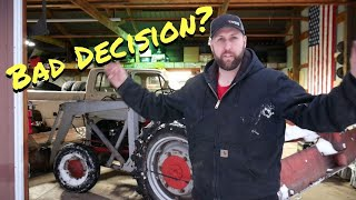 I bought an old Ford Tractor! Let's cold start it and plow some snow! - Vice Grip Garage EP58