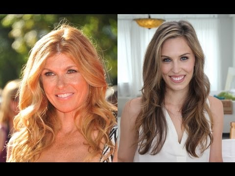 How To: Connie Britton Hair