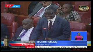 KTN Prime: Senate gets divided along political inclinations during electoral laws' special sitting