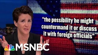 Donald Trump Flips Out Over NYT Report On New US Aggression With Russia   Rachel Maddow   MSNBC