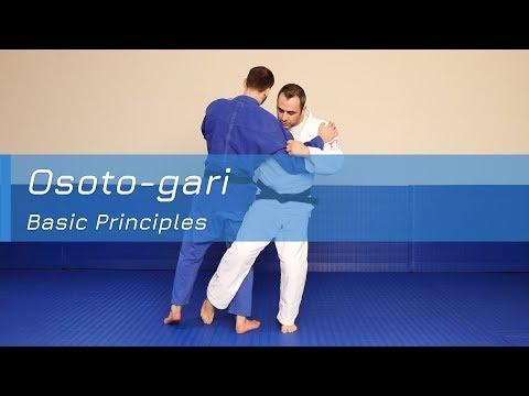 Osoto-gari - Basic principles