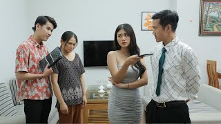 Con Dâu Mèo Mả Gà Đồng, Bày Trò Vòi Tiền Bố Chồng | Nàng Dâu Online Tập 71