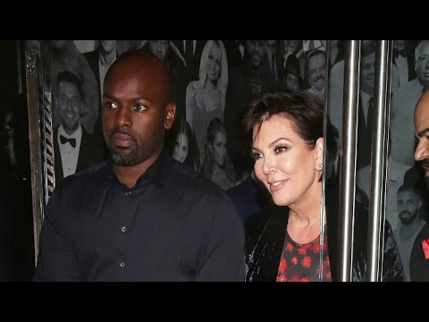 Kris Jenner And Corey Gamble Looking Tight Amid Rumors Kris Is Sleeping With Scott Disick