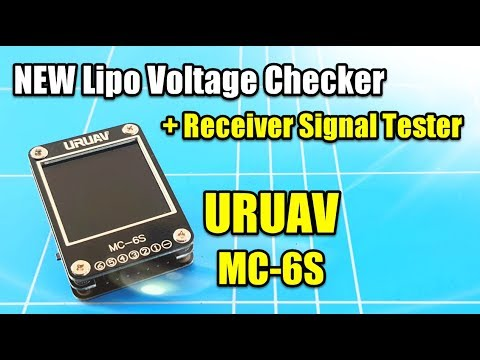 URUAV MC6S 2 in 1 LIPO VOLTAGE CHECKER and RECEIVER SIGNAL TESTER In Depth REVIEW