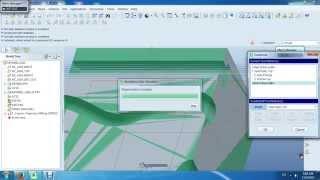 Video Phay rãnh chữ T trên ProE 5.0