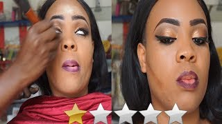 I WENT TO THE WORST REVIEWED MAKEUP ARTIST IN NIGERIA | SOMBILI