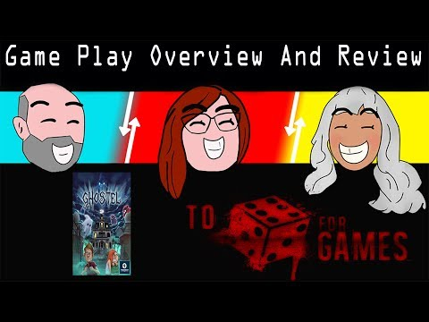 Ghostel Game Play Overview & Review - To Die For Games