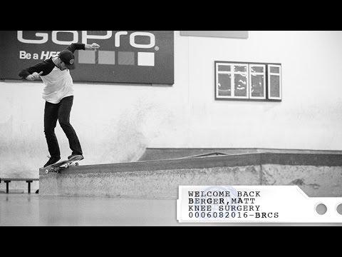 Matt Berger | Welcome Back
