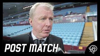 POST MATCH | Steve McClaren Post Aston Villa (A)