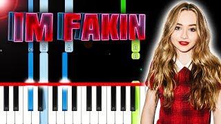 Sabrina Carpenter   I'm Fakin (Piano Tutorial) By MUSICHELP