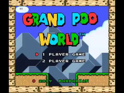 Grand Poo World 100% TAS in 38:10,49