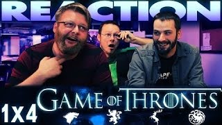 """Game of Thrones 1x4 REACTION!! """"Cripples, Bastards, and Broken Things"""" REUPLOAD"""