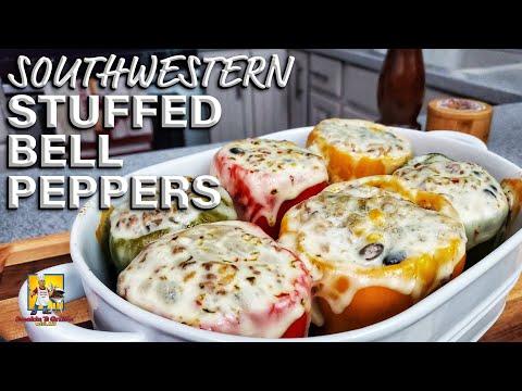 Southwestern Style Stuffed Bell Peppers