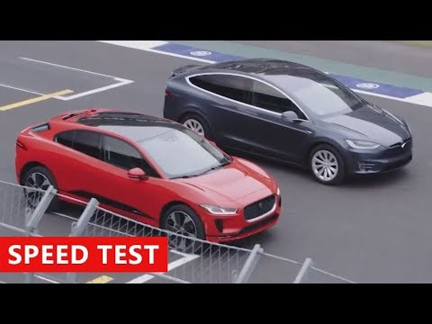 Jaguar I-Pace beats Tesla Model X in electric car drag-race