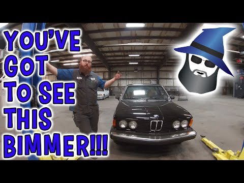 The CAR WIZARD inspects Mint '78 BMW 320i
