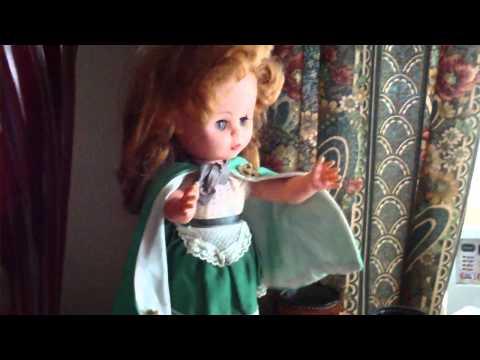 Palitoy Irish Lass Celtic Red Hair Traditional Dress Doll