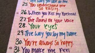 how to make 50 reasons why i love you cards - Free video