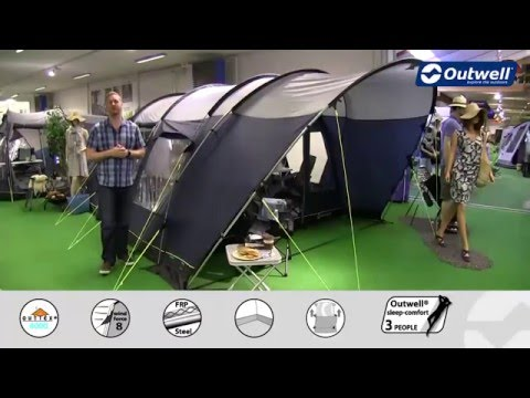 Outwell Denver 4 Tent - 2016 | Innovative Family Camping
