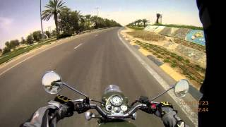 preview picture of video 'Royal Enfield Classic 500, Road E45 (U.A.E.)'
