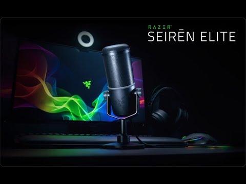 Фото - Микрофон для компьютера проводной Razer Seiren Elite (RZ19-02280100-R3M1)