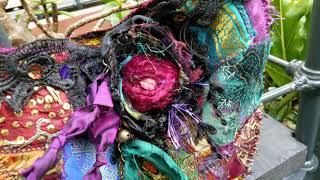 Boho Gypsy Crazy Patch Bag