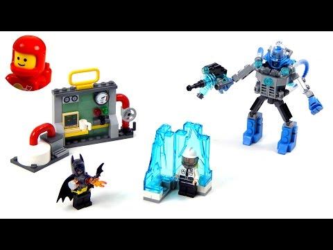 Vidéo LEGO The Batman Movie 70901 : L'attaque glacée de Mister Freeze