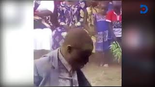 Pastor 'consumed' with Holy Spirit pours dust and mud on himself