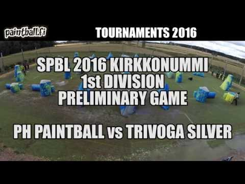 PH Paintball vs Trivoga Silver - SPBL2016 Kirkkonummi
