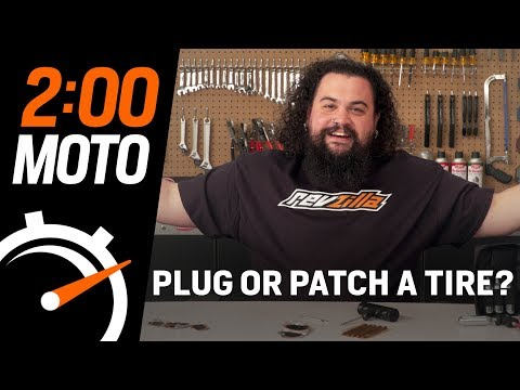 2 Minute Moto – Do I Need To Plug or Patch My Tire?