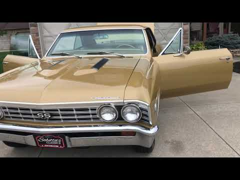 1967 Chevrolet Chevelle SS (CC-1416189) for sale in Orville, Ohio