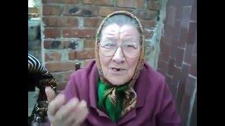 Бабка отжигает частушку про адама и евуБабка жжт,очень смешной стих,я так орал,супер,смех,крик,смех