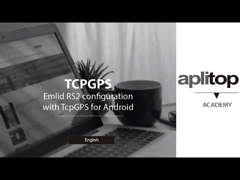 EMLID RS2 configuration with TcpGPS for Android
