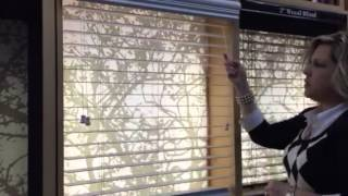 How to Correctly Operate Fauxwood & Wood Blinds