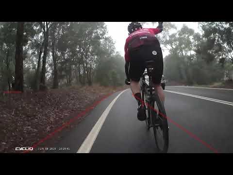 Cyclist Salute