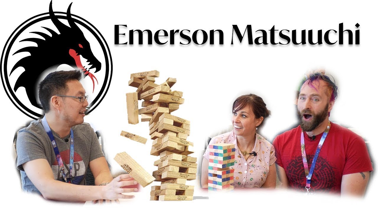 Emerson Matsuuchi - Jenga Interview (Origins 2019)